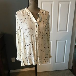 NWOT Blu Pepper Printed Blouse